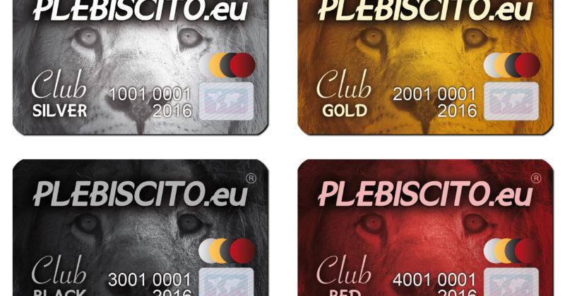On line il sito di Plebiscito.eu® Club
