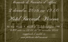 Momento di Incontro d'Affari a Verona – Venerdì 2 dicembre 2016 – EVENTO RINVIATO
